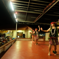 Chamorro Village dancers