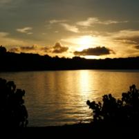 GabGab beach sunset