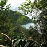 the hike down to Haputo beach