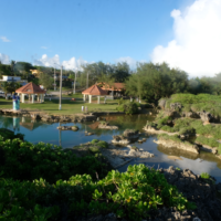 overview of Inarajan Pools