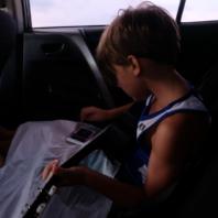 Joshy learns the ukulele