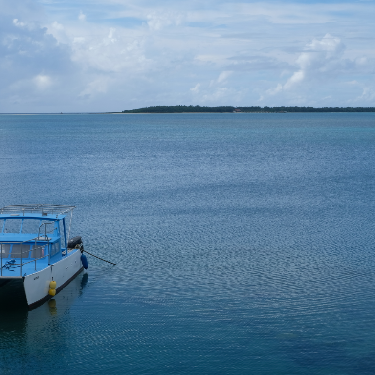 on our way to cocos island