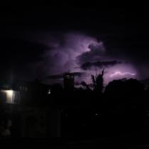 just sittin' back watching the lightning storm!